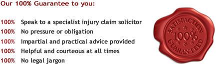 No win no fee personal injury claim